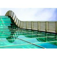 Skylight 5mm two layers laminated toughened glass , Processed Solid Bent Laminated Glass Manufactures