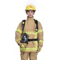 China PBI fabric Fire and Flame Retardant Clothing Firefighter Uniform ECO-friendly and Durable wholesale
