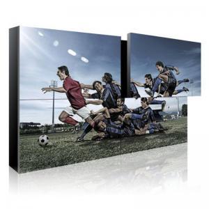China Modular Wall Mounted LCD Video Screen High Brightness 700cd/m2 200W wholesale