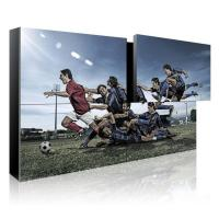 Buy cheap Modular Wall Mounted LCD Video Screen High Brightness 700cd/m2 200W from wholesalers