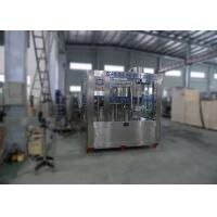 China Steel Structure Automatic Water Bottling MachineLine Washing Filling Capping 3IN1 Machine on sale