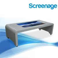 42'' 1080P Andorid / Windows OS Touch Screen Coffee Table For Primary School , Hotel Manufactures
