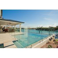 Toughened Glass Panels Swimming Pool Fence 12mm with Polished Edges Manufactures