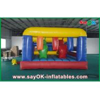 Giant Inflatable Sports Games , Inflatable Barrier Obstacle Course for Kids Manufactures