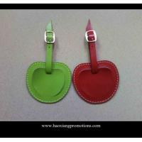New Products for 2015 Factory Customized Leather Luggage Tag with your logo Manufactures