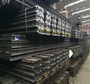 Standard Heavy Railway Steel Rail Steel Products Steel Rail Manufactures