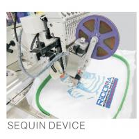 China garment / cap Computerized home embroidery machines with sequin device wholesale