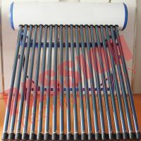 China Customized Color Heat Pipe Solar Water Heater Rooftop High Efficiency on sale