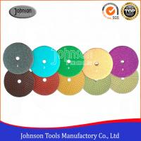 China 100 mm Diamond Polishing Pads 5 steps wet polishing pad for stone on sale