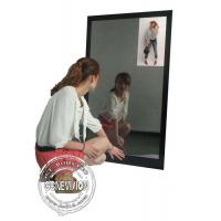13.3 Inch Magic Mirror Advertising Player , Bathroom Body Motion Sensor Mirror Media Player Android Manufactures