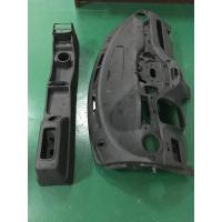 Black CNC Machined ABS Rapid Prototyping Parts Car Bumper For Automobile Manufactures