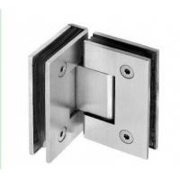 China 90 degree Double Square Shower hinge;Glass fitting;;Glass hinge;shower hinge on sale
