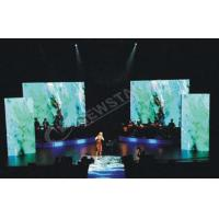 Ultra Thin Rotating Curtain Led Display For Advertising , Flexible Led Screen