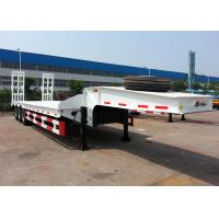 100 ton heavy equipment transportation truck trailer 50 ton lowbed trailer BPW axle for sale Manufactures