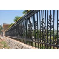 China 2400mm (W)*1800mm (H) home & garden  decorative steel fence/ iron fence/ fence on sale