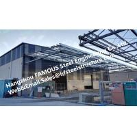Galvanized Black Prefabricated Steel Structures Steel Sandwich Panel Cladding System Manufactures