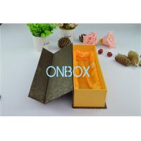 Wine , Whisky , Alcohol Rigid Cardboard Box With Satin Loose Insert / Magnet Closure Manufactures