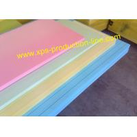 Skin-On / Grooved Styrofoam Insulation Sheets High Strength Extruded Polystyrene XPS Manufactures