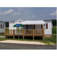 China Prefab Mobile Homes Prefabricated House White Modular Small Vacation House wholesale