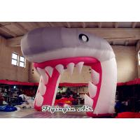 Buy cheap Cute Inflatable Shark Arch, Inflatable Channel, Inflatable Tunnel for Sale from wholesalers