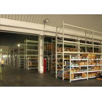 Supply Chain Carton Flow Rack Pallet Racking Shelves Placed Roller / Channel Shaped Bracket Manufactures