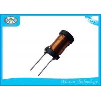 Low Impedance Chokes Ferrite Core Inductor , D10 X H16mm 1016 Radial Leaded Inductor