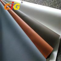 PVC Upholstery Leather From 0.6MM To 1.2MM Waterproof And Colorful Manufactures