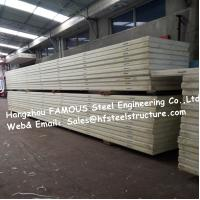 China Sandwich Panel Manufacturer Supply Cold Room Panel Pu Insulated Material And 950mm Width Manufactures