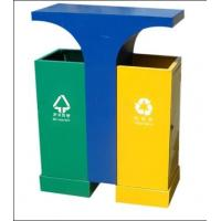 Outdoor ,Schools,Public place Stainless Steel Recycling dual rubbish bins for sale Manufactures