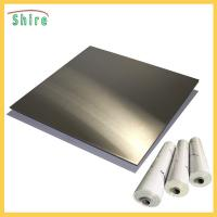 China Metal Wire Drawing Board Pvc Cling Film , Self Adhesive Pvc Film Roll Anti Dust on sale