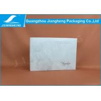 Quality Glossy Lamination Cosmetic Packaging Boxes / Reusable Cardboard Box Packaging for sale