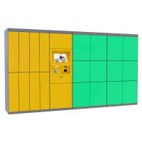 Self Service Laundry Dry Locker , Electronic Smart Storage Doors The Cleaning Locker Manufactures