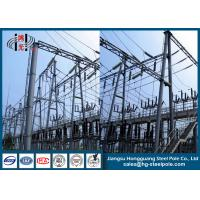 China Steel Structures for Substation Anti-rust  Q235 on sale