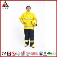 China Washing Flame Retardant Clothing Firefighter Turnout Gear with Nomex IIIA Material wholesale
