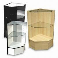 Acrylic Display Cabinet, customized designs with lock, key, clear acrylic and wooden materials Manufactures