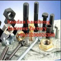 China high tensile hex bolt and nut grade 8.8 carbon steel with good quality and good price on sale