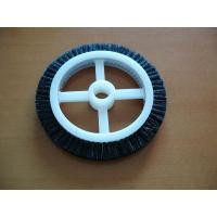 Black Roll Cotton Stenter Brushes Wheel Mini For Textile Machinery