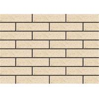 Clay Exterior Thin Brick Veneer , External Brick Tiles Rough Surface Manufactures