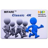 China CR80 ISO14443A 13.56MHz MIFARE Classic 4K RFID Smart Card for access control on sale
