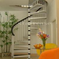 China Steel Spiral Staircase (9002-7) wholesale