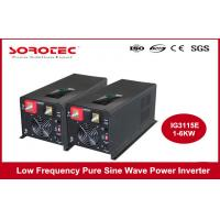 Low Frequency 5000 Watt  Power Inverters 8V 120V With Bypass , ISO9000 Standard Manufactures