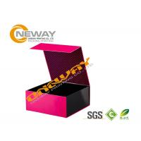 China Unique Design Flat Ship Cardboard Foldable Printed Packaging Boxes CMYK printing wholesale