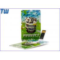 Buy cheap Classic Credit Card USB 4GB Thumb Drive Disk Any Logo Printing from wholesalers