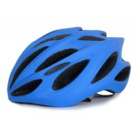 China Custom Bicycle Helmet With Visor , 22 Hole Youth Bike Helmet In Mold on sale