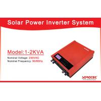 Buy cheap 1000VA 2000VA Off Grid Solar Power Inverters with 50A PWM Solar Charge Controller from wholesalers
