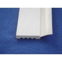 Weather stop brick PVC foam moulding , PVC Trim Moldings for home decoration Manufactures