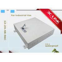 China Waterproof Wall Mount Outdoor Fiber Cabinet Fiber Optic Distribution Frame 24 Cores on sale