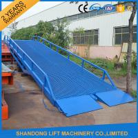 China Adjustable Loading Dock Ramp ,  Warehouse Container Loading Mobile Dock Ramp on sale