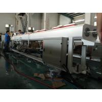 Double Outlet PVC Small Pipe Extrusion Line , Plastic Tube Extrusion Machine Manufactures