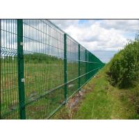 China Easy Install 3D Curved Welded Mesh Fence Welded Utility Fence For Public Grounds wholesale